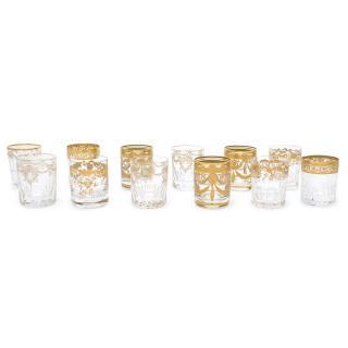 Hermes Crystal Saint Louis Tea Glass Set