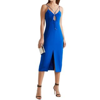 Cushnie et Ochs Courtney Cutout Silk-crepe Dress