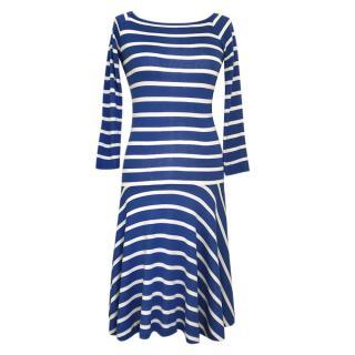 Ralph Lauren Striped Swing Dress