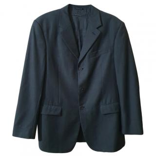 Gianfranco Ferre Grey Wool Blazer