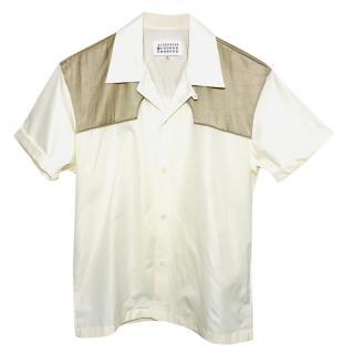 Maison Margiela Cotton Panelled Shirt