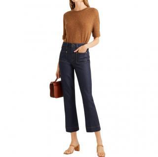 Khaite Raquel Cropped Jeans - Current