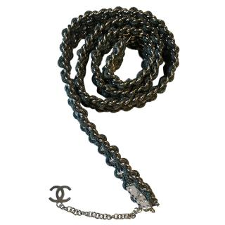 Chanel Chain Dice Belt