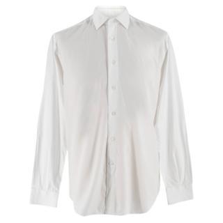 Harrods of London White Cotton Shirt