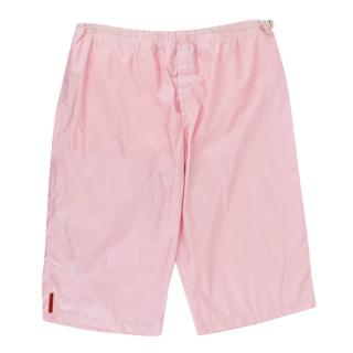 Prada Pink Swim Shorts