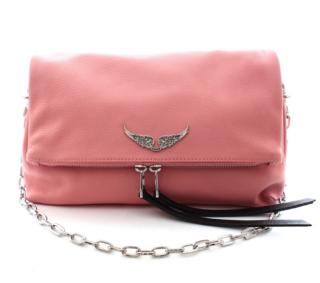 Zadig & Voltaire Rock Shoulder Bag In Pink