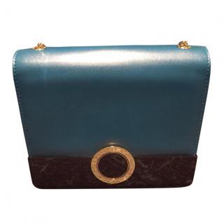 Bvlgari Turquoise BZERO Flap Bag