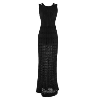 M Missoni Black Maxi Dress