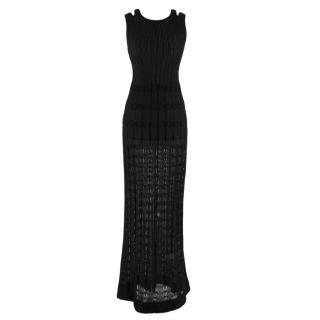 M Missoni Black Maxi Dress