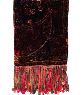 Etro Velvet Silk Shawl