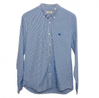 Burberry Brit vertical stripe shirt