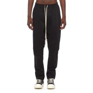 Rick Owens DRKSHDW Black Drop Crotch Pants