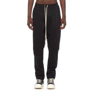 Rick Owens DRKSHDW Black Drop Crotch Pants