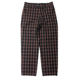 Oliver Spencer Plaid Pants