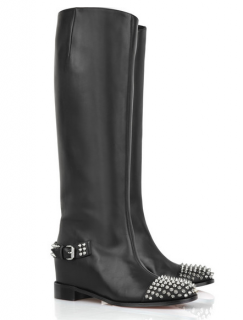 Christian Louboutin Egoutina studded leather boots