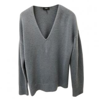 Brand new Theory Cashmere Blue Jumper