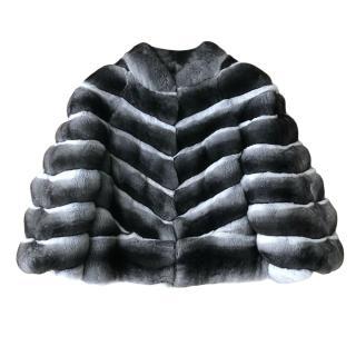 FurbySD Chinchilla Fur Short Jacket