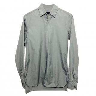 Lanvin Grey Cotton Shirt