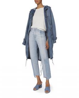 AG Jeans Phoebe Two-Tone Step Hem Jeans