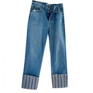 GRLFRND Upturned Jeans