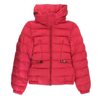 Moncler Fuchsia Quilted Down Jacket