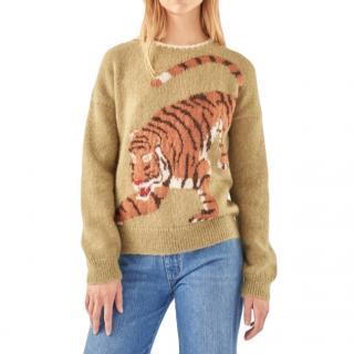 M.I.H Jeans X Golborne Road by Bay Garnett tiger sweater