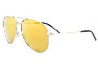 Saint Laurent Yellow Mirrored Sunglasses