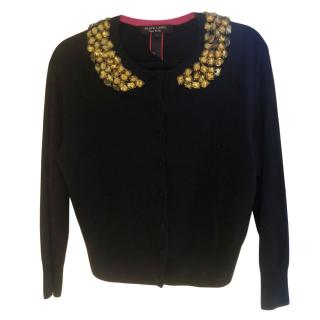 Paul Smith Black Label Short Embellished Cardigan