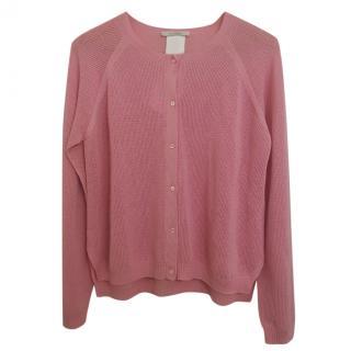 Max Mara Pink Knit Cardigan
