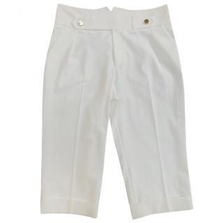 Gucci Ecru Tailored Shorts