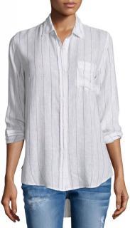 Rails Charli Skinny-Striped Shirt