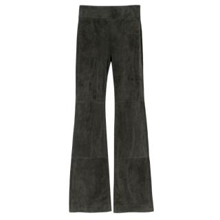 Dorothee Schumacher Aesthtic Attempt Suede Flared Pants