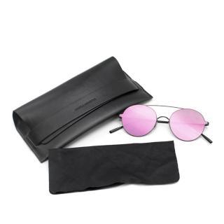 Gentle Monster Purple Reflective Sunglasses