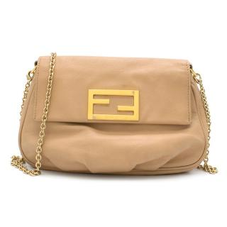 Fendi Nude Mini Pouch Crossbody Bag