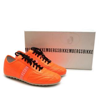 Bikkemberg Orange Soccer Style Sneaker
