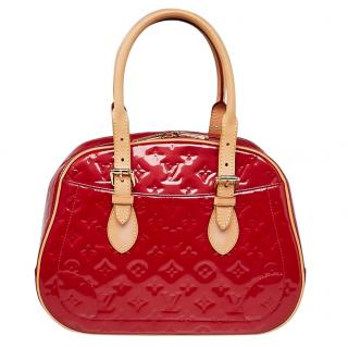 Louis Vuitton Raspberry Vernis Summit Drive Tote Bag