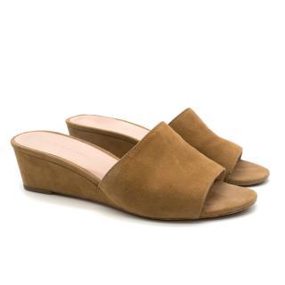 Loeffler Randall Tilly Suede Wedge Sandals