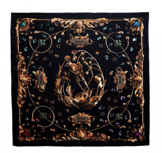 Faberge X Gary James McQueen Silk Scarf