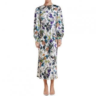 Olivia von Halle Aureta Eden Mid-Length Dress