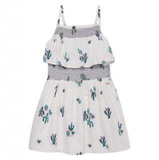 Tommy Hilfiger Cactus Allover Print Cotton Dress