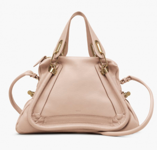 Chloe Beige Paraty Tote Bag
