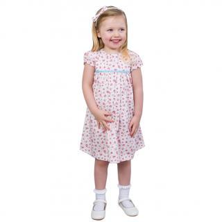 Cairenn Foy 'Julia Style' Dress In Ecru Floral