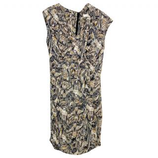 Iro Twist Zilla Printed Silk Mini Dress