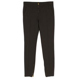 Tom Ford Dark Brown Skinny Pants