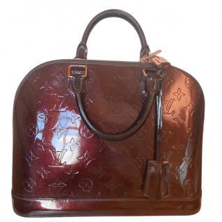 Louis Vuitton Bordeaux Alma Tote Bag