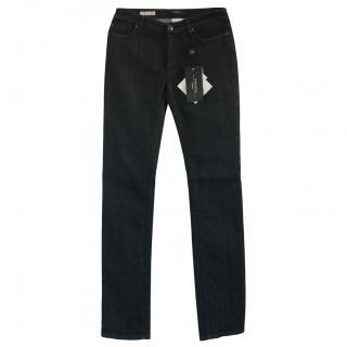 Max Mara Dark Denim Straight Leg Jeans