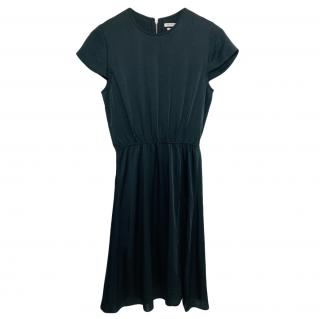 Isabel Marant black A-Line Draped Dress