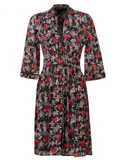 Ba&Sh Eden Printed Dress