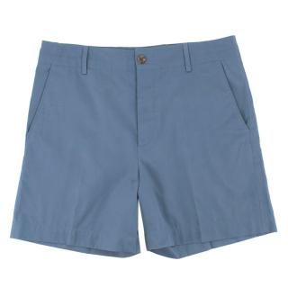 Gucci Blue Chino Shorts