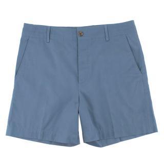 Gucci Blue Chino Shorts